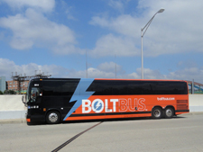 Bolt Bus on Maryland Avenue