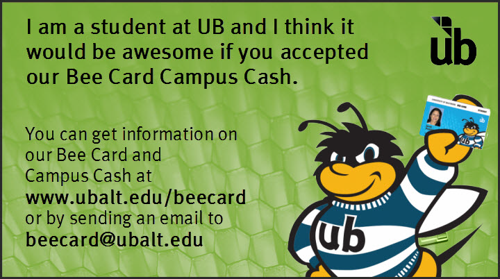 student interest card