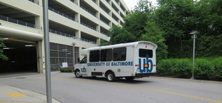 University of Baltimore shuttle.