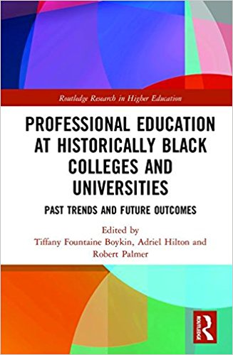 Book Cover Professional Education at Historically Black Colleges and Universities