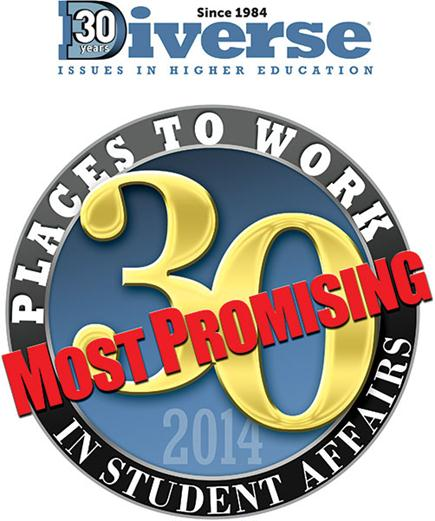 30 most promising places to work in student affairs