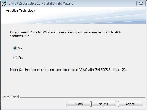 SPSS Information - University of Baltimore