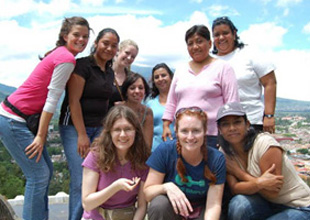 honors group in Guatemala
