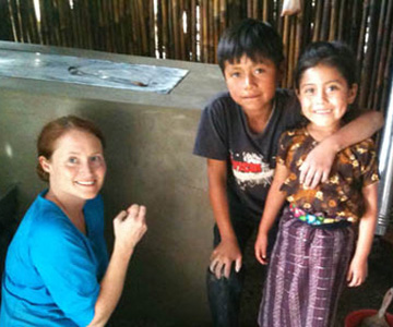 helping families in Guatemala