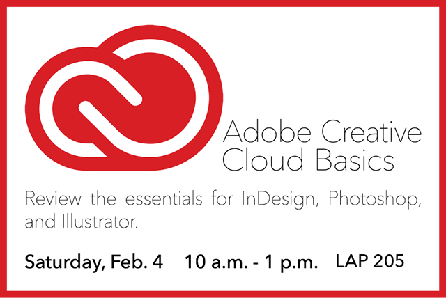 Adobe Creative Cloud Basics Prep Workshop