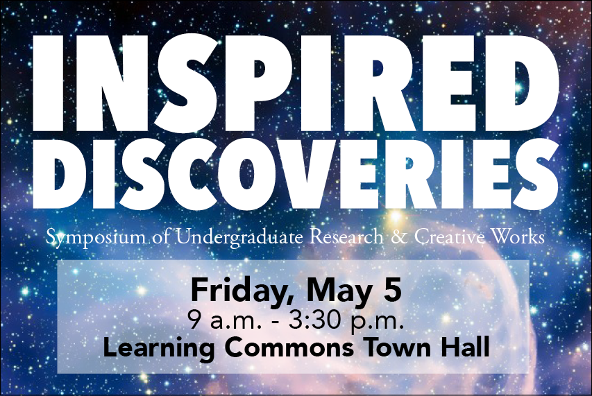 Inspired Discoveries: symposium of undergraduate research and creative works