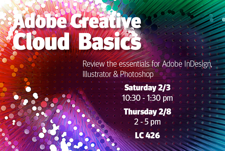 Adobe Creative Cloud Basics