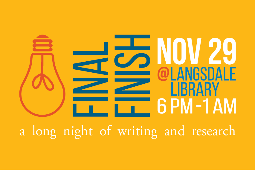 Final Finish: A Long Night of Writing and Research