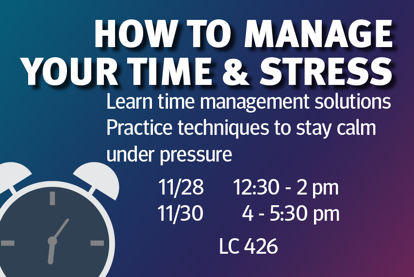 How to Manage Your Time and Stress
