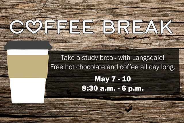 Coffee Break: Free Coffee and Lemonade at Langsdale