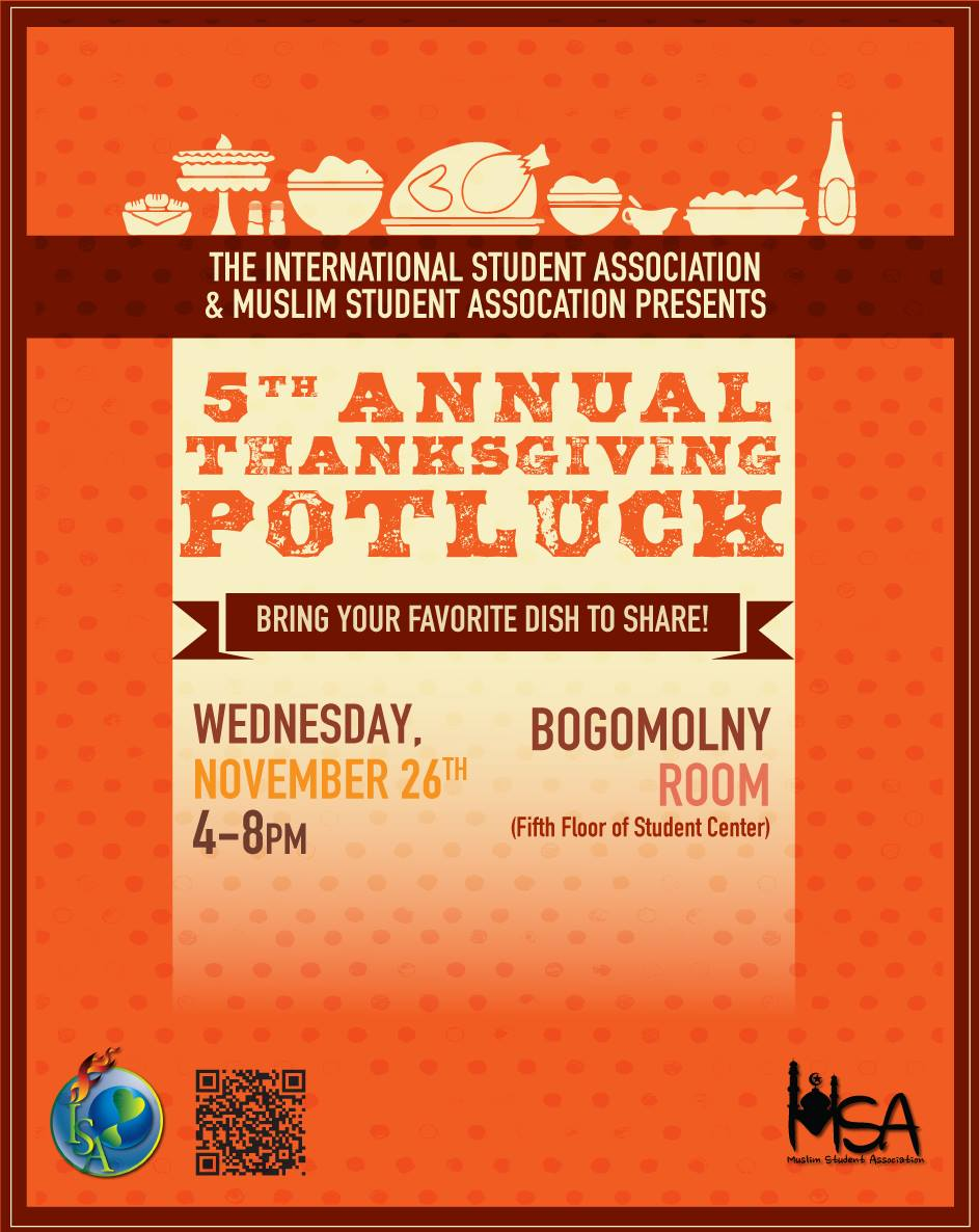 5th Annual Thanksgiving Potluck Event