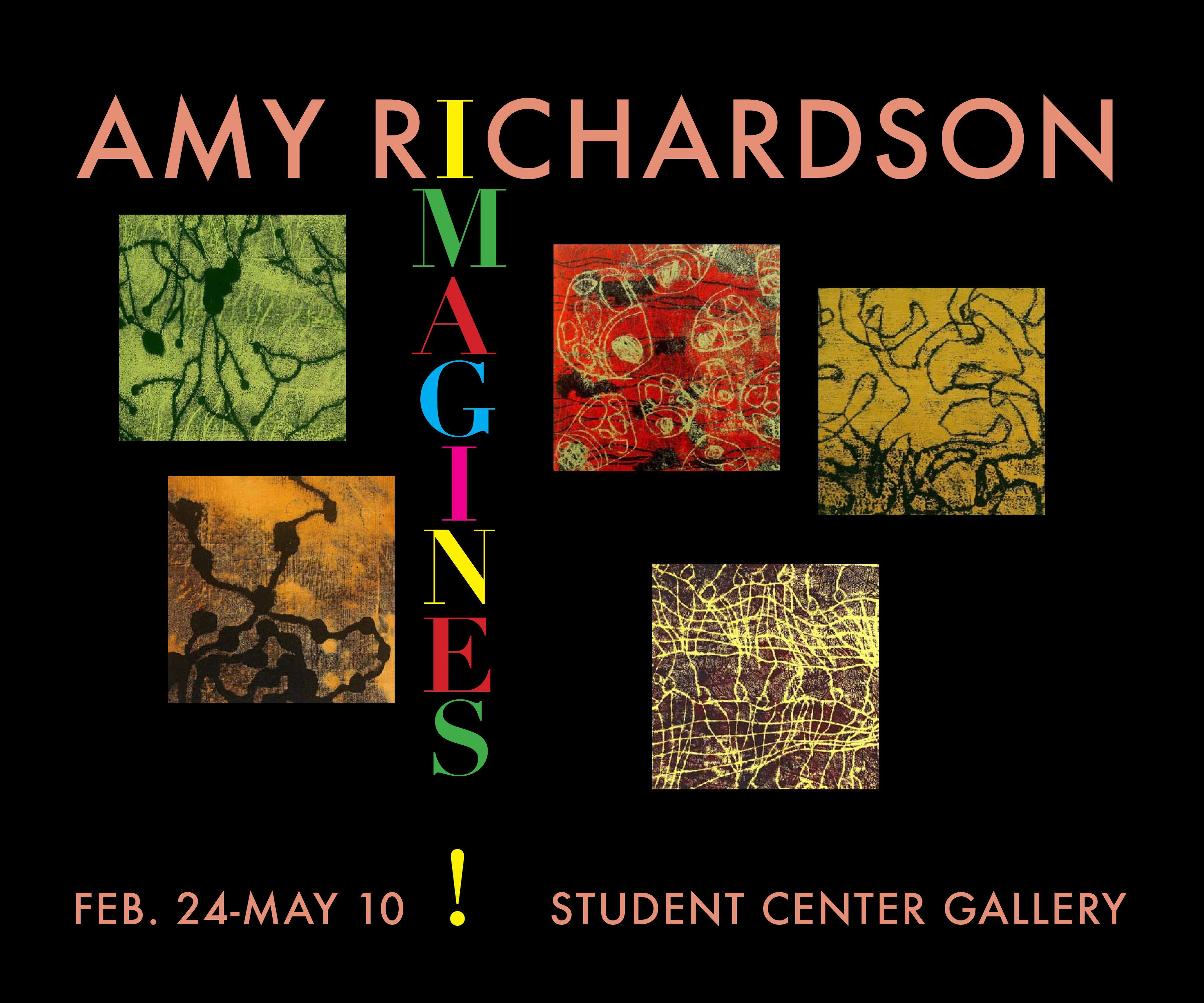 Amy Richardson Exhibit - Opening Reception