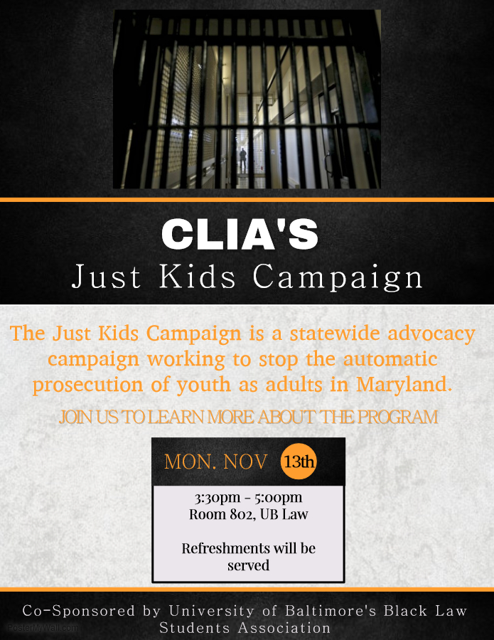 Learn About Community Law In Action and the Just Kids Campaign