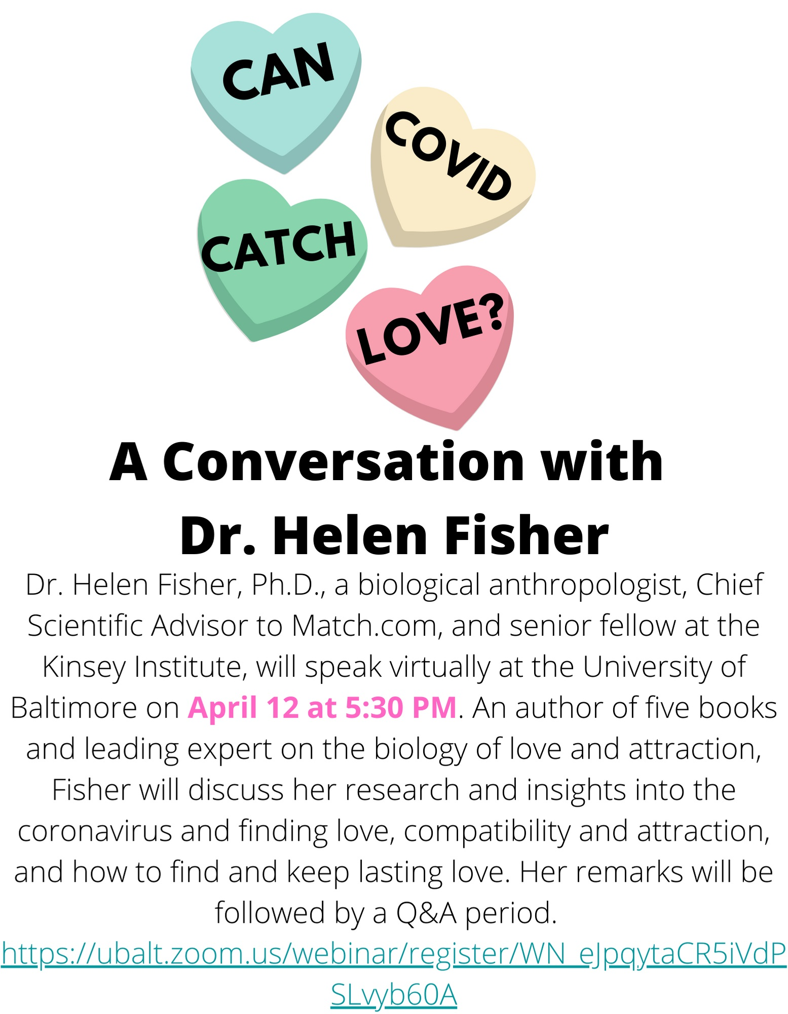 Can Covid Catch Love?: A Conversation with Dr. Helen Fisher