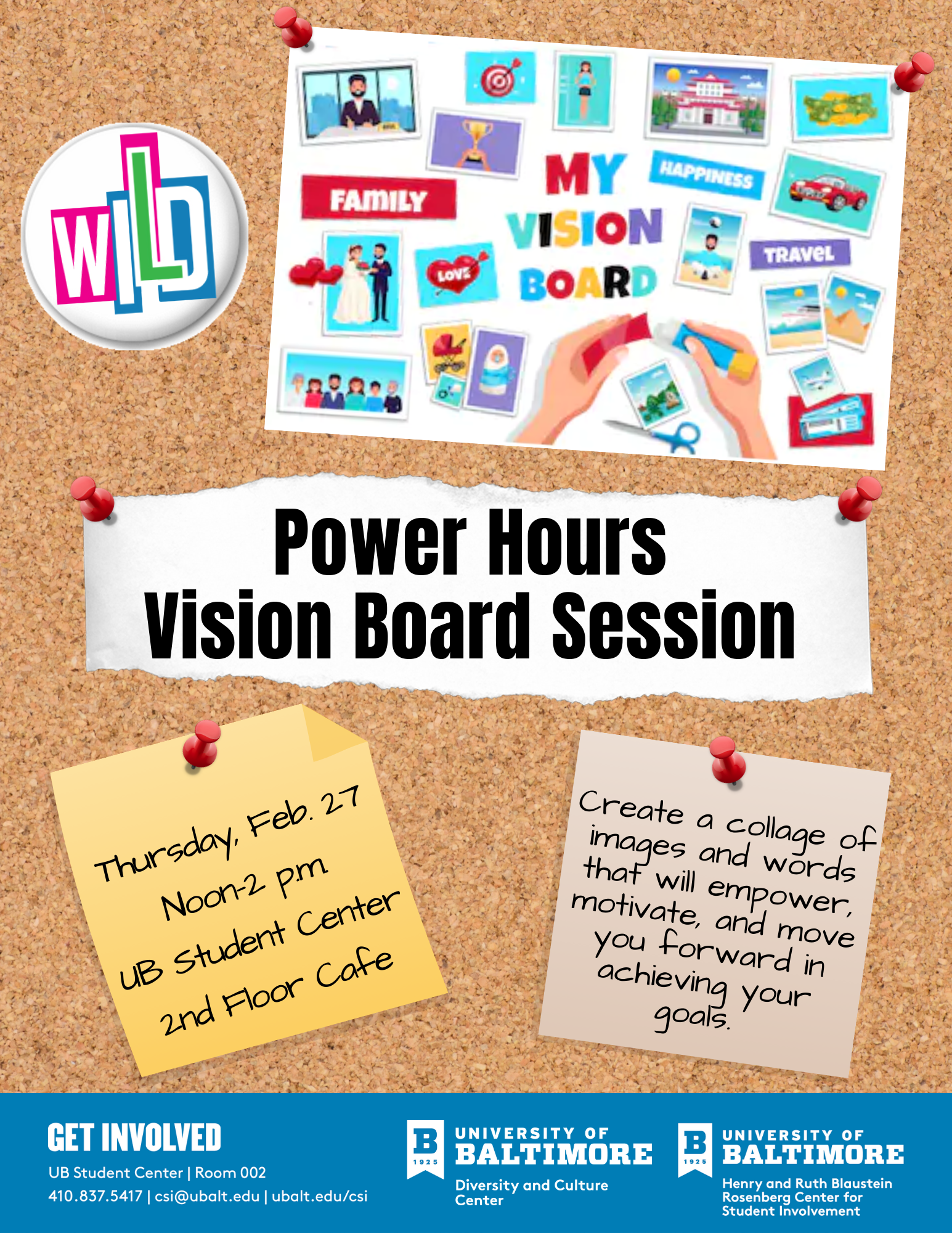 Women's Initiative for Leadership Development Vision Board Session