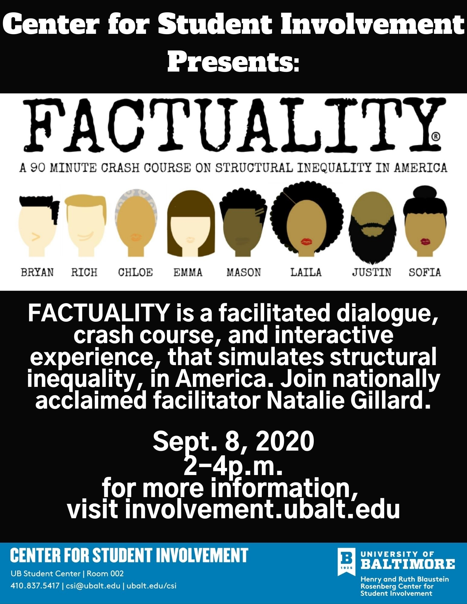 FACTUALITY by Natalie Gillard