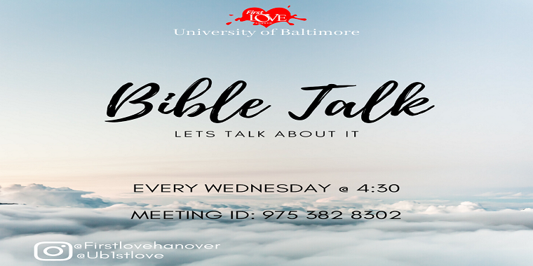 Bible Talk hosted by First Love