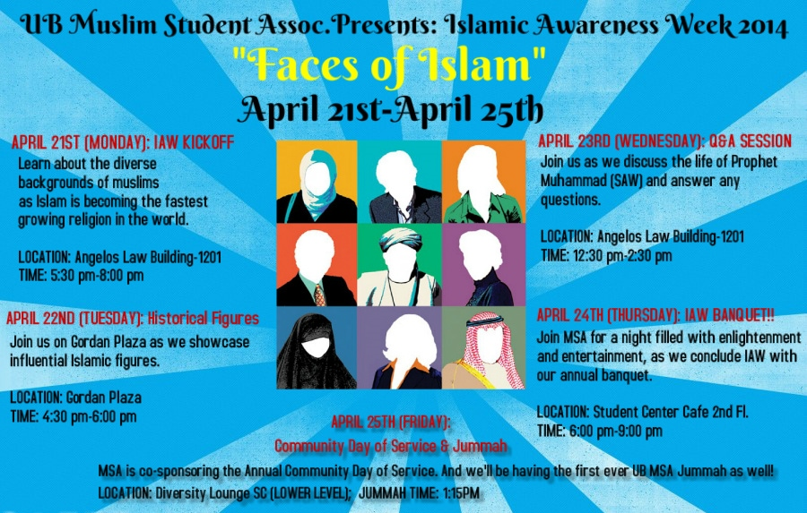 Islamic Awareness Week Banquet 2014!