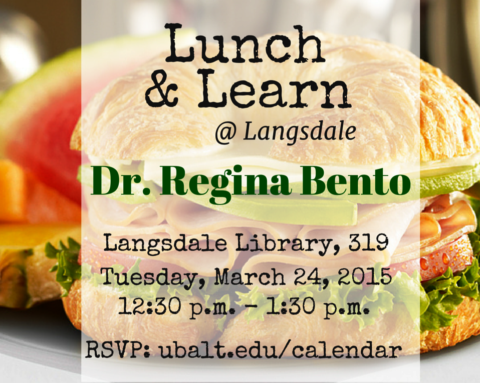 Lunch and Learn at Langsdale: