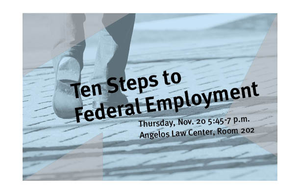 Ten Steps to Federal Employment