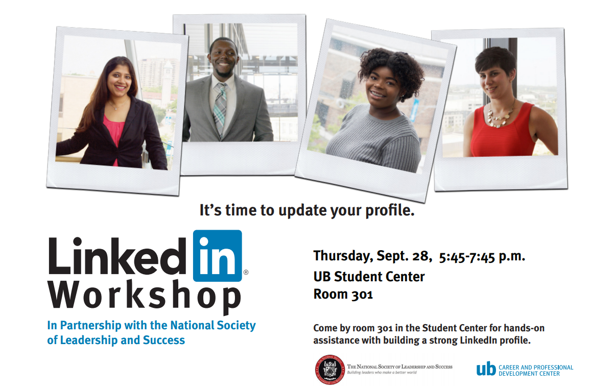 Be Ready: LinkedIn 101 (with NSLS)