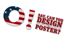 'O! Say' Poster Competition Judging with Keynote Address by Designer Kit Hinrichs
