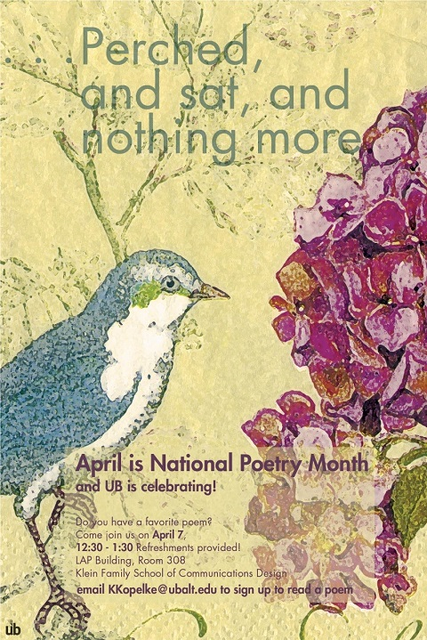 UB Celebrates National Poetry Month