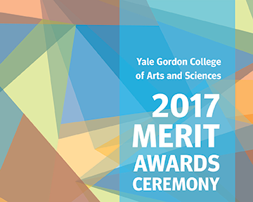 Yale Gordon College of Arts and Sciences Merit Award Celebration