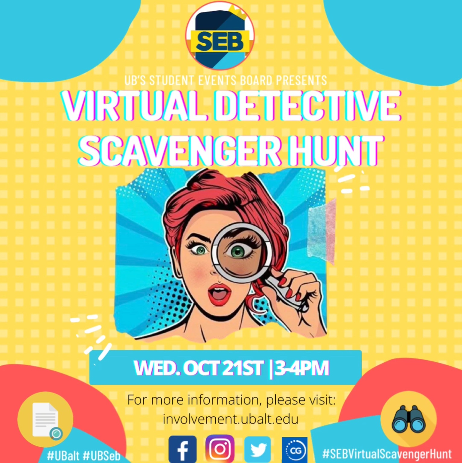 SEB's Virtual Scavenger Hunt