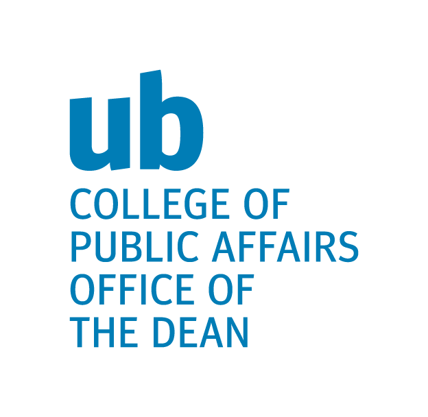 College of Public Affairs Dean's Speaker Series