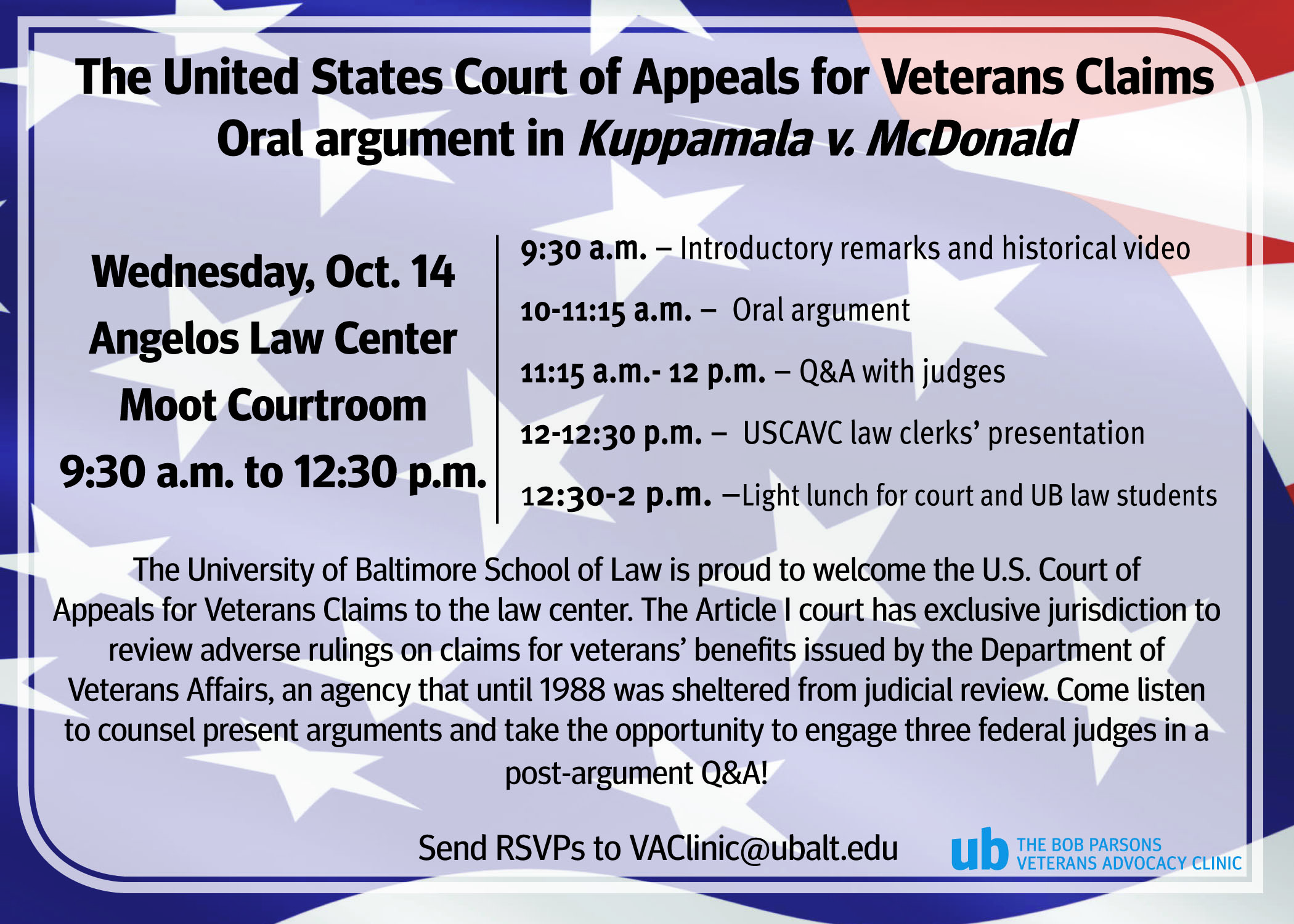 The United States Court of Appeals for Veterans Claims Oral Argument in Kuppamata v. McDonald