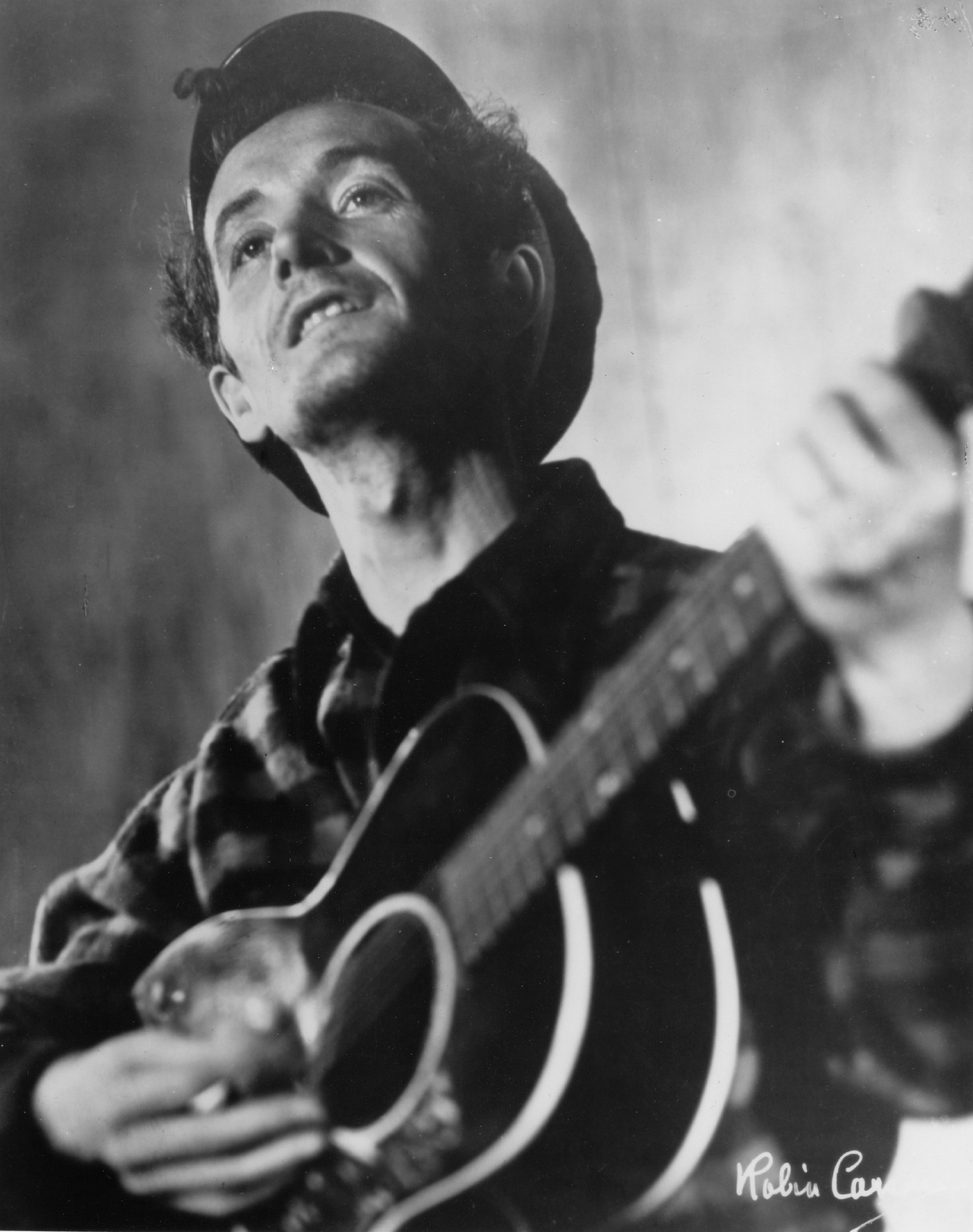 'The Legacy of Woody Guthrie: An Evening of Folk Music with Caleb Stine'