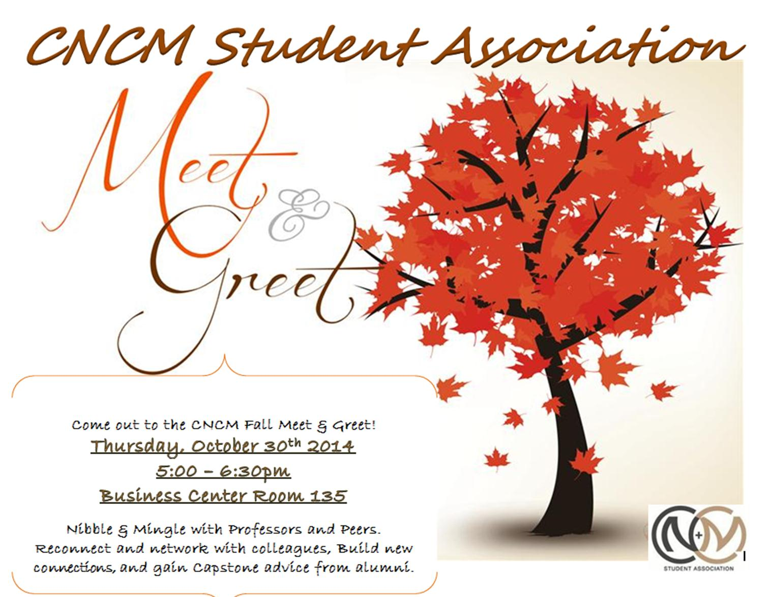 CNCM Fall Meet & Greet