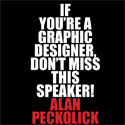 Ampersand Institute for Words & Images Presents: A Talk with Legendary Designer Alan Peckolick