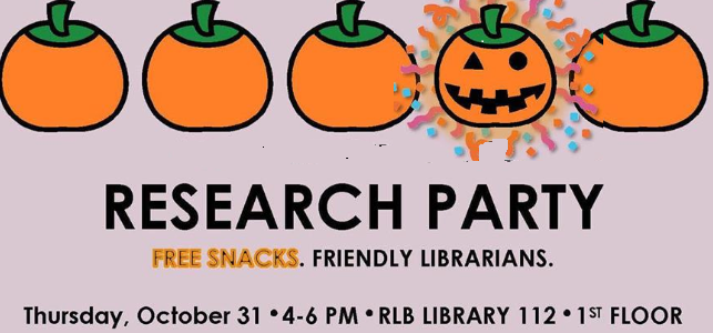 Halloween Research Party