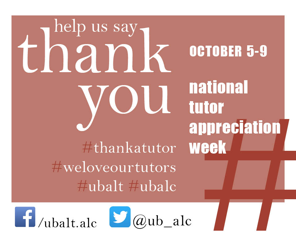 National Tutor Appreciation Week