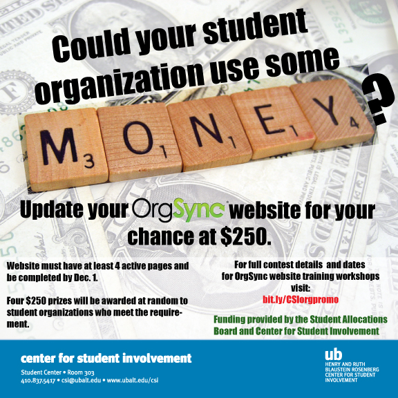 Student Organization OrgSync Website Tutorial