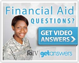 Veterans Financial Aid TV Questions and Answers Logo