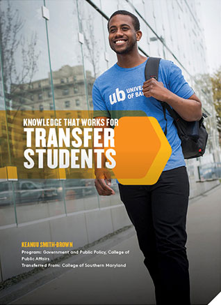 UB transfer brochure