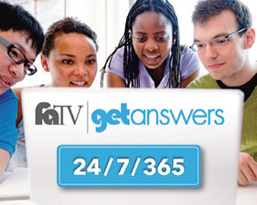Get answers from faTV