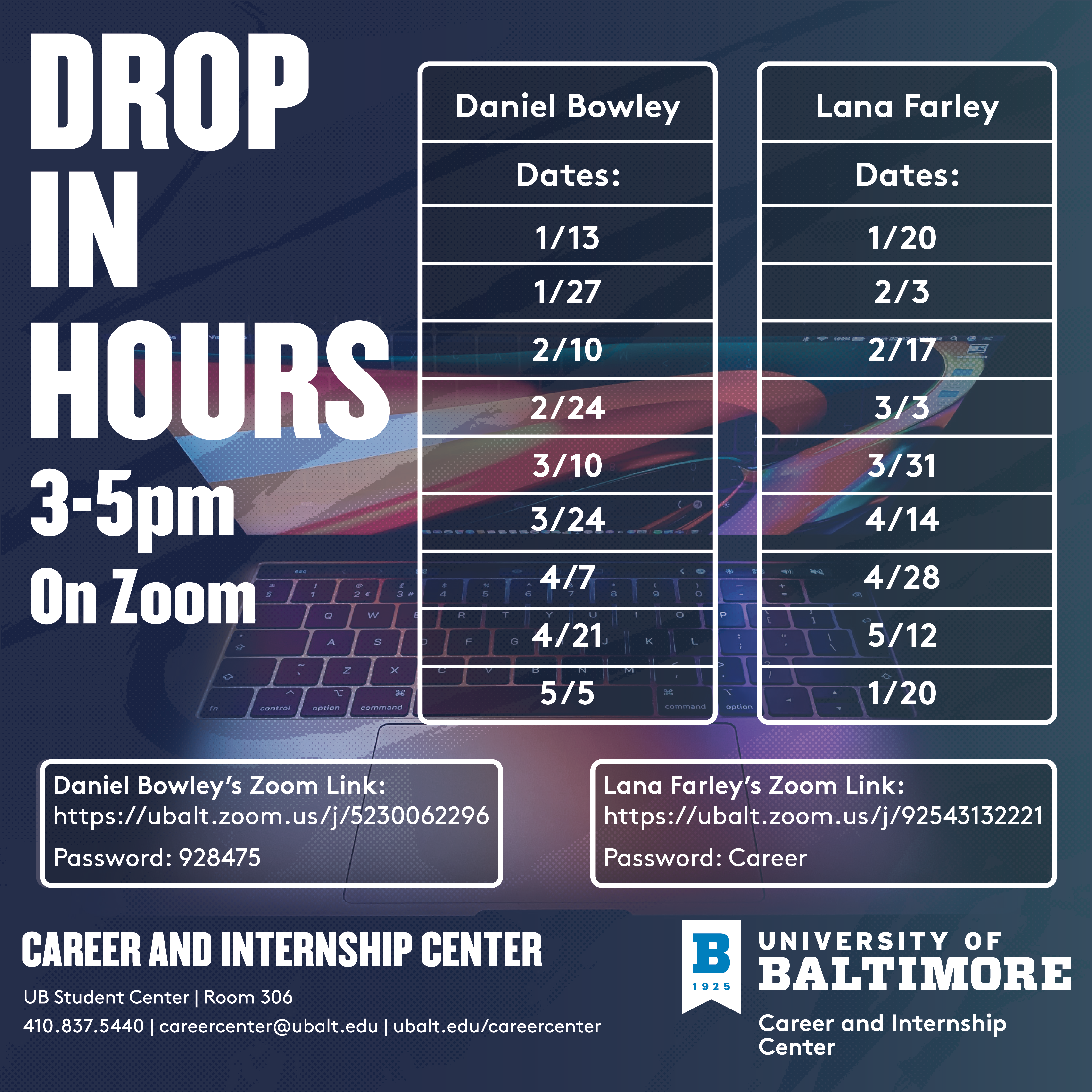 Drop-In Hours