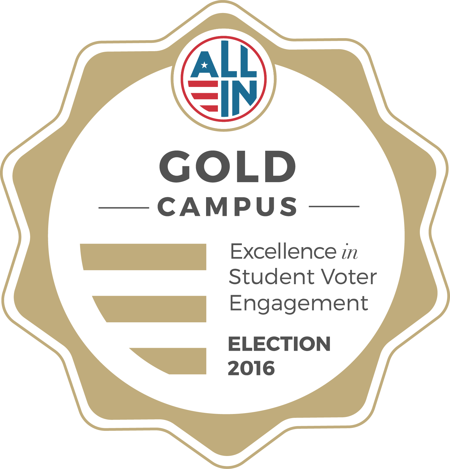 University of Baltimore Gold Seal for Democratic Engagement