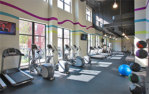 24-hour, state-of-the-art fitness center inside the Varsity