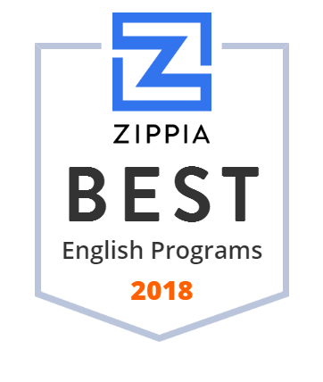 Zippia badge English