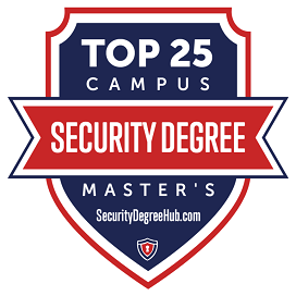 Security Degree Hub badge