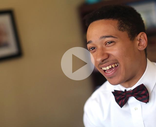 UB student Derick Ebert is Baltimore's youth poet laureate