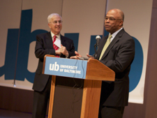 Kurt L. Schmoke appointed new president of UB