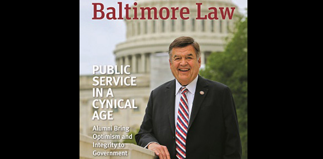 Law Magazine Fall 2019: Public Service in a Cynical Age