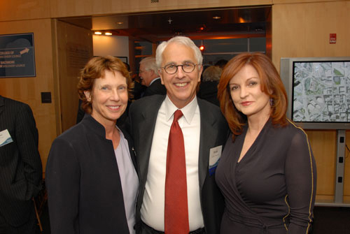Ms. Janice Toran, President Bogomolny and Ms. Maureen Dowd at the 2009 Capital Campaign Kickoff Event.