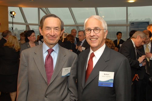Mr. Robert Russel and President Bogomolny at the 2009 Capital Campaign Kickoff Event.